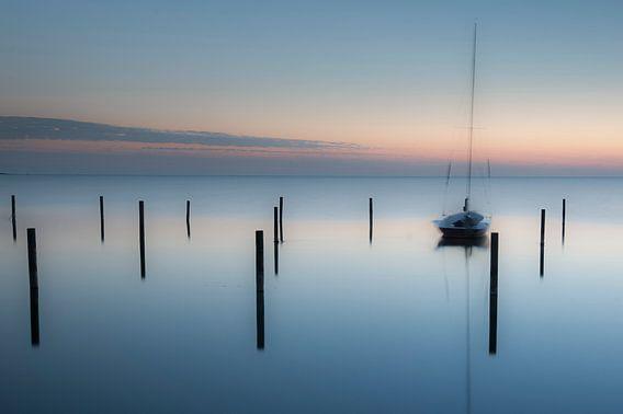 Stilte na zonsondergang van Piet Haaksma