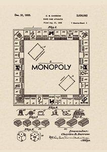Patent 1935 MONOPOLY US