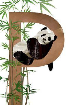 P - Panda von Goed Blauw