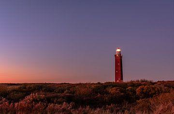 Der Westhoofd-Leuchtturm in Ouddorp von Gea Gaetani d'Aragona
