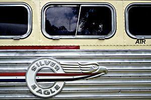 Silver Eagle bus detail van Jurien Minke