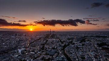 Parijs - Zonsondergang van Fotografie Ploeg