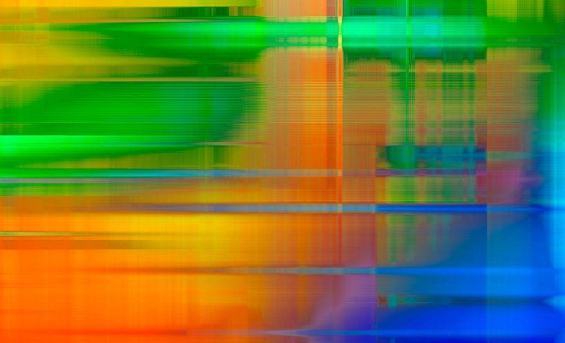 Neon Graphics landscape von ART Eva Maria