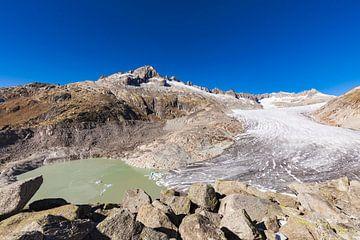 Rhonegletscher in der Schweiz von Werner Dieterich