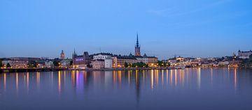 Stockholm at night van Henry van Schijndel