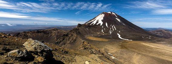 Tongariro Alpine Crossing - Nieuw Zeeland van Ricardo Bouman | Fotografie