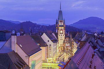 Über den Dächern von Freiburg von Patrick Lohmüller