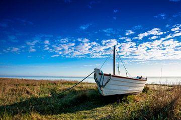 Vissersbootje op de Oostzeekust sur Jan Peter Mulder