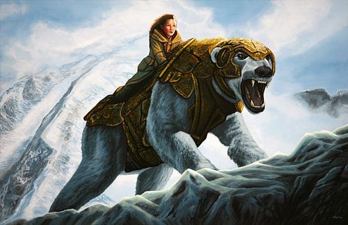The Golden Compass schilderij van Paul Meijering