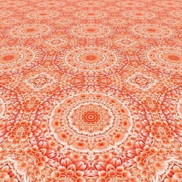 Mandala bloemen perspectief