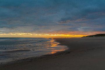 Sonnenaufgang am Strand von Vlieland