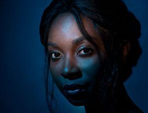 Blue Queen von Ineke Mighorst