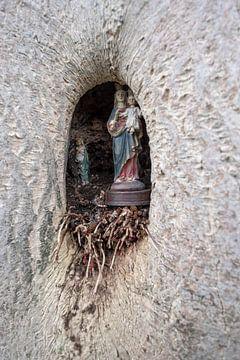 Maria met Jezus in een boom van Wouter Bos
