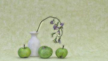 Pommes vertes sur Marie-Anne Stas