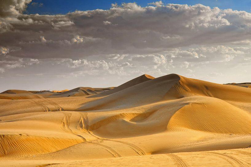 Wahibi Sands woestijn in Oman van Yvonne Smits