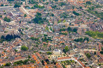 Luchtfoto Oosterhout Centrum van I Love Breda