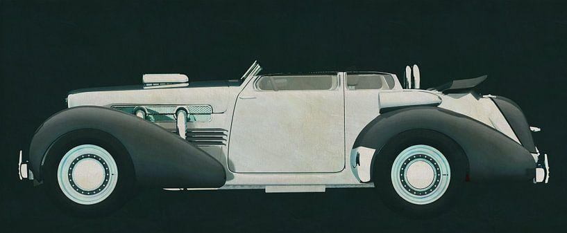 Cord 812 Lone Runner Concept van Jan Keteleer