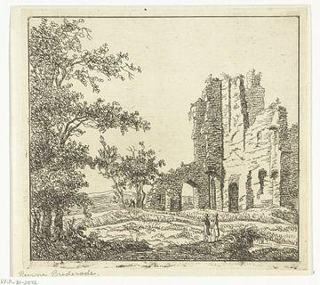 Ruïne van Brederode, Anthonie van den Bos