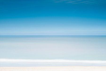 Een zee van rust.