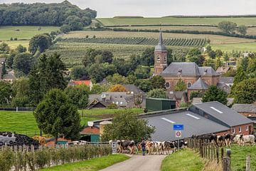 Kerkdorpje Eys van John Kreukniet