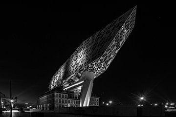 Havenhuis Antwerpen von Rene Van Putten