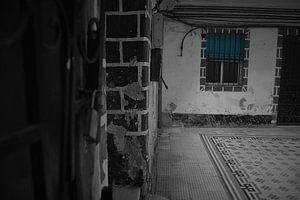 Het mysterieuze raam   Cadiz, Spanje van