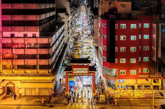 Winkelen in de oneindige Temple Street