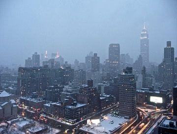 'Skyline Manhattan', New York van Martine Joanne