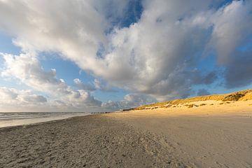 Soleil sur les dunes de l'Ameland