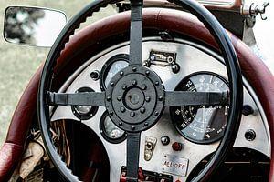 Vintage 1927 Bentley dashboard