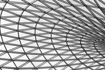 Dak van British Museum in Londen van Eline Huizenga