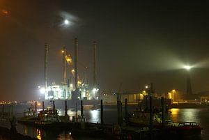 Haven van IJmuiden von Michel Postma