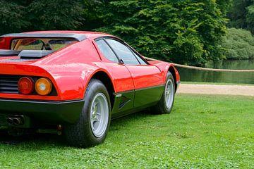 Ferrari 512 BB oder Berlinetta Boxer Italienischer Sportwagen der 1970er Jahre von Sjoerd van der Wal