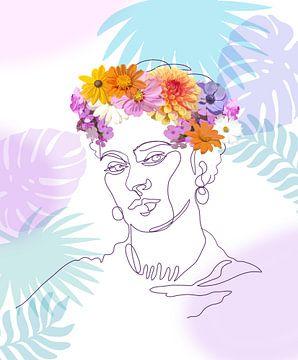 Aanhankelijke Frida van christine b-b müller