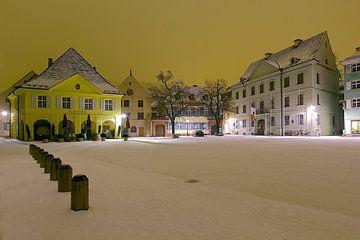 Winternacht in Freiburg von Patrick Lohmüller
