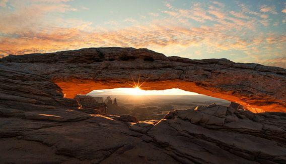 Mesa Arch, Utah van Reinier Snijders
