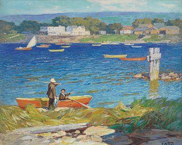 Edward H. Potthast (Amerikaner, geb. 1857, gest. 1927)~Ein Tag der Fischerei