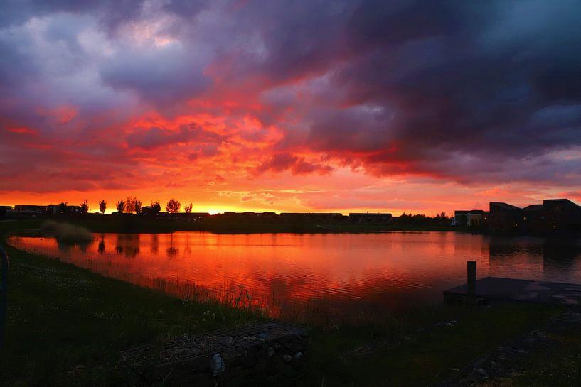 Fire in the sky van Marco van de Pol