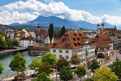 Luzern stadsgezicht
