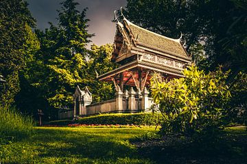 Koninklijke Thaise tempel in Bad Homburg van Fotos by Jan Wehnert