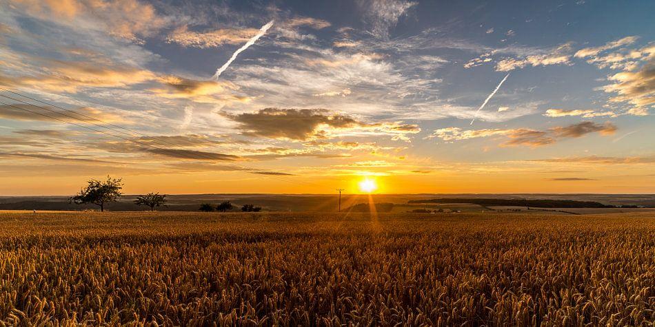 Sunset Saarburg