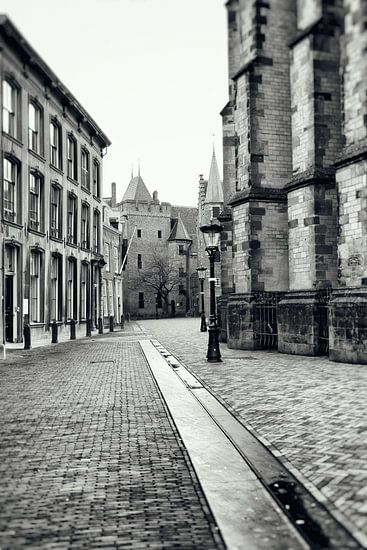 Achter de Dom in Utrecht.  (Utrecht2019@40mm nr 3) van De Utrechtse Grachten