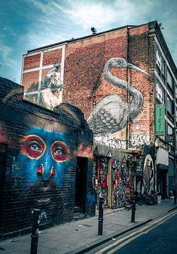 Ziegelsteinweg - London von Thijs van Beusekom
