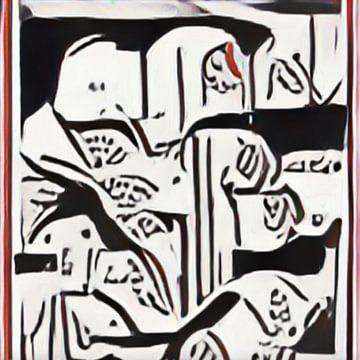 Abstract Inspiratie IX van Maurice Dawson
