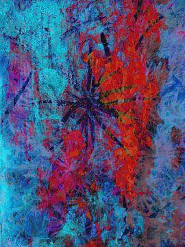 Modernes, abstraktes digitales Kunstwerk - Leben ohne Zeitverlust von Art By Dominic