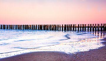 La plage du lever du soleil sur natascha verbij