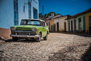Oldtimer trinidad Kuba von Manon Ruitenberg