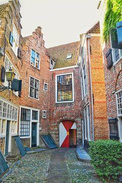 Monumentale Häuser Stadt Middelburg von Mariska Wondergem