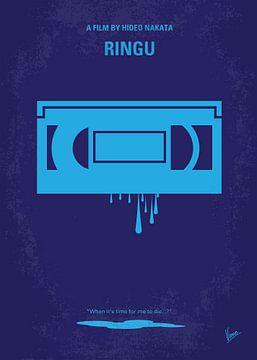 No070 My Ringu minimal movie poster van Chungkong Art