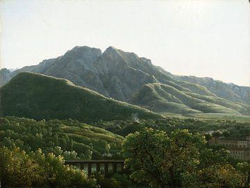 Jean-Joseph-Xavier Bidauld~Ansicht der Brücke und der Stadt Cava, Königreich Neapel